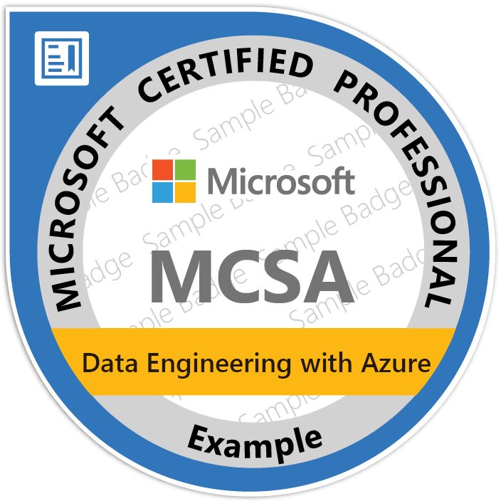 Online Mcsa Data Engineering Azure Courses Cameroon Training Yaounde